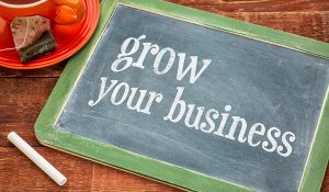 grow your business sign board