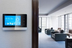 climate control in modern living room