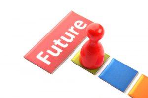 pawn stepping onto future tile