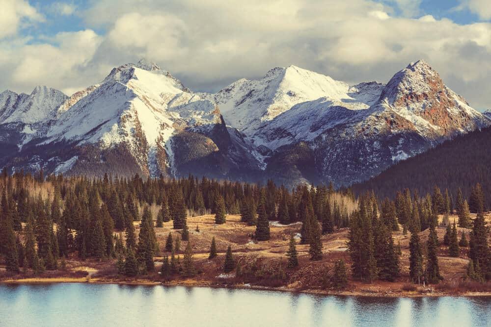 Rocky Mountains Over Colorado