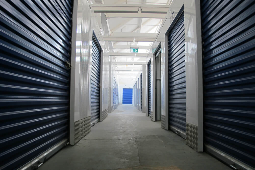 climate controlled storage units interior