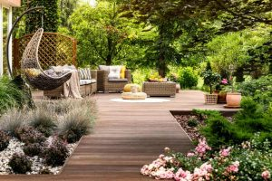 elaborate decorative home garden patio