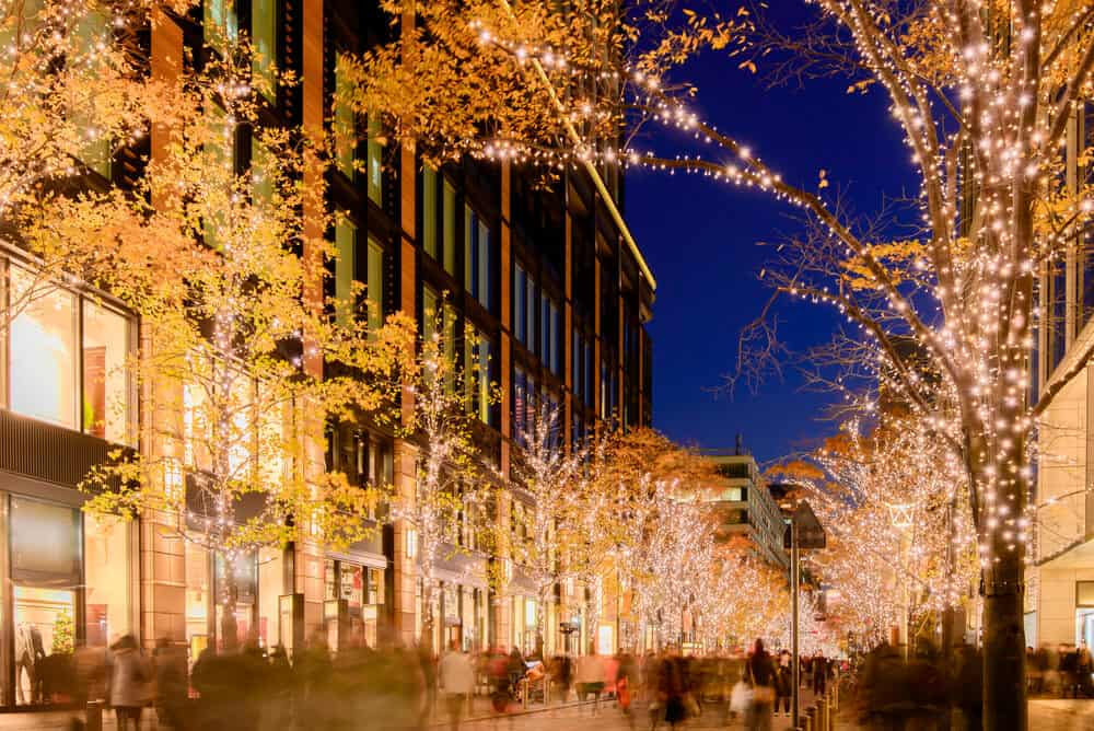 winter festival outside tokyo