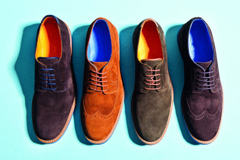 brightly colored mens shoes