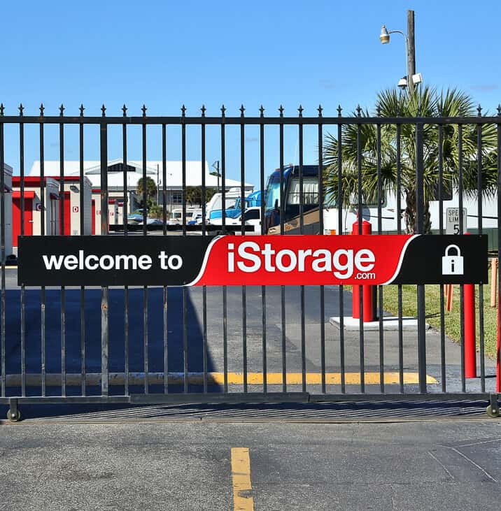 iStorage Winter Park Forsyth Security Gate