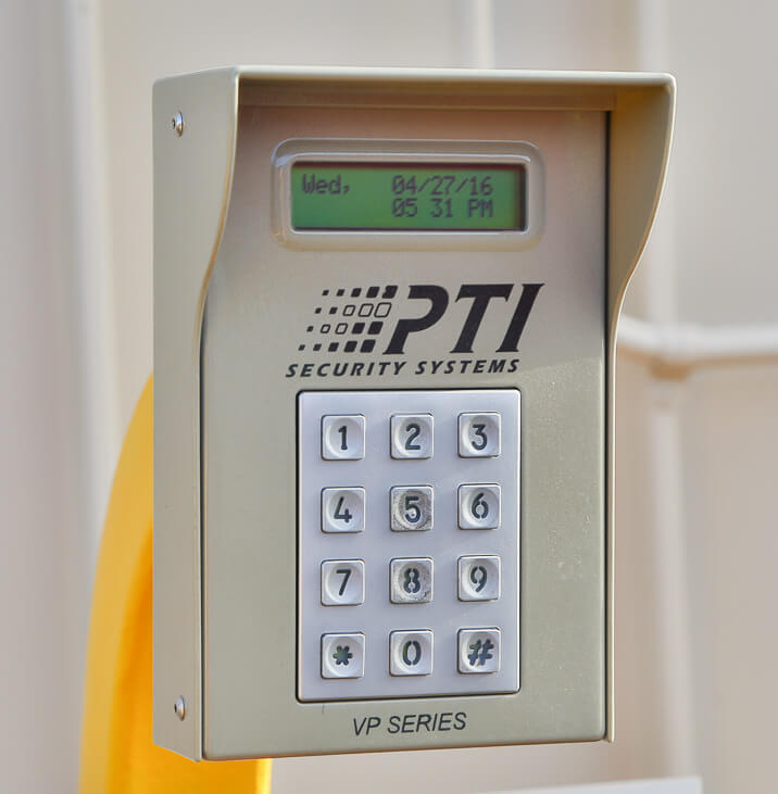 iStorage Gainesville Security Gate Keypad