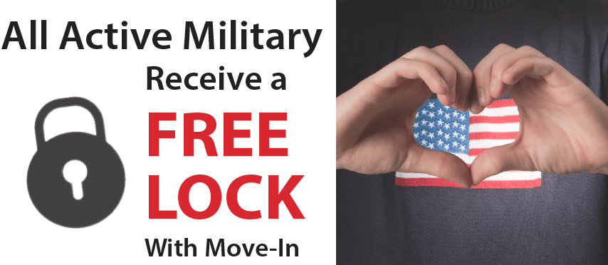 Free Lock for All Active Military