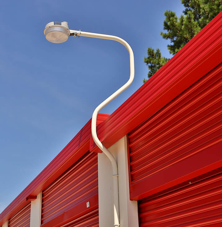 iStorage Hinesville Secure Lighting