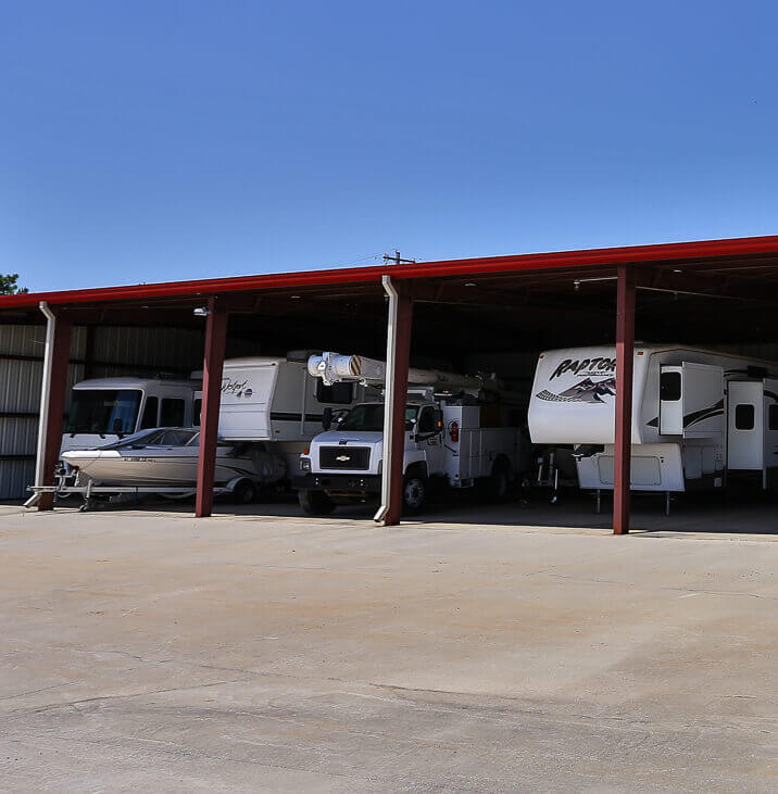 iStorage Laceys Spring Covered RV and Boat Parking