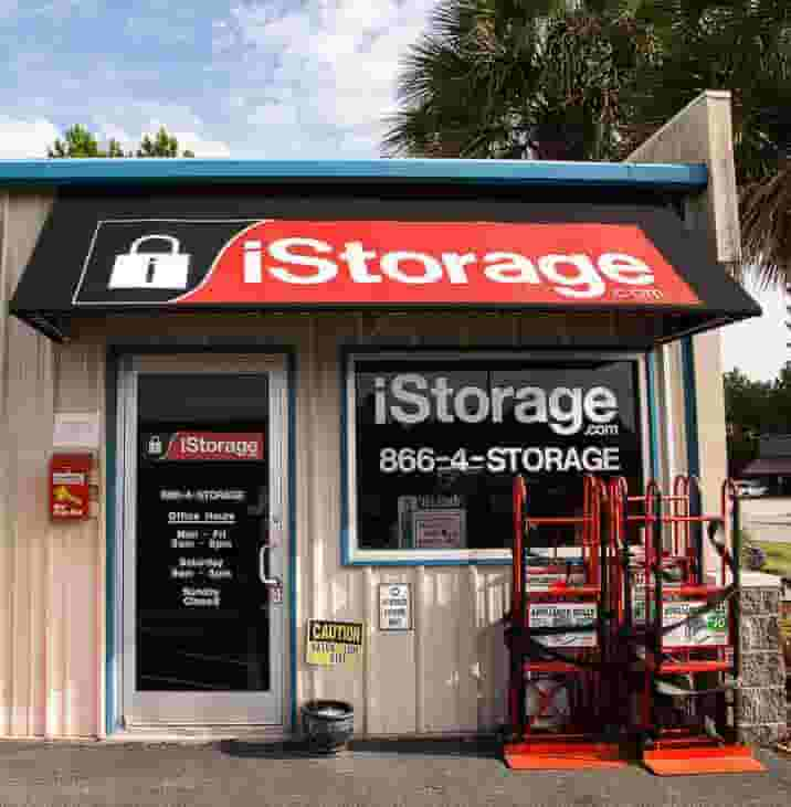 iStorage Panama City Beach Self Storage Main Entrance