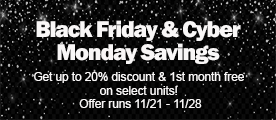 Black Friday & Cyber Monday Savings